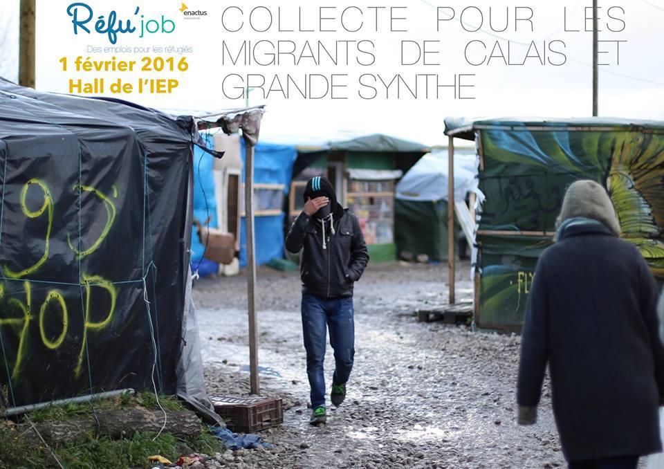 En septembre 2015, la France s'engage, conformément au plan de répartition des réfugiés de la Commission Européenne à accueillir 24 000 nouveaux réfugiés dans les années à venir. L'Etat a pour responsabilité d'organiser l'accueil et l'intégration de ces réfugiés. De son côté, le monde associatif continue de se mobiliser. De nombreuses personnes ont ressenti l'envie de s'investir en tant que bénévoles dans des associations d'aide aux réfugiés. Qu'en est-il à Sciences Po Lille ? Petit tour d'horizon des associations étudiantes qui viennent en aide aux réfugiés en compagnie de Amélie Gatoux (Cal'aide), Alice Lémont (Réfu'job), Laura Chouteau (InterAgir) et Méline Fulda (Réfu'job), 4 étudiantes dynamiques et pleines de projets.