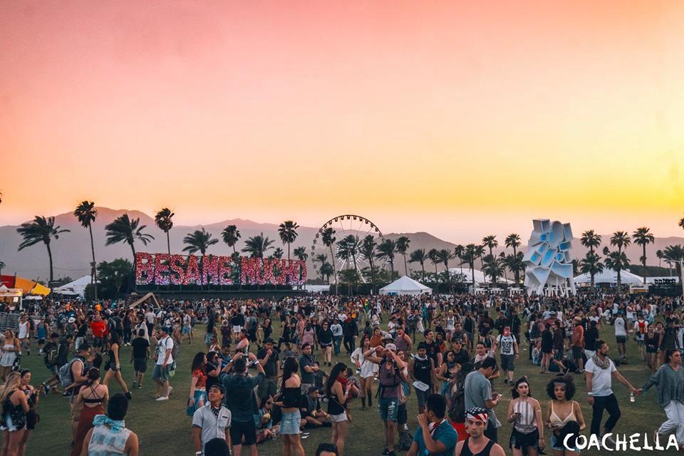 Image de Une : le festival Coachella en Californie