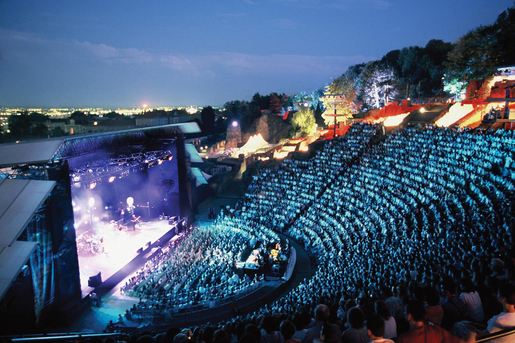 Les Nuits de Fourvières et leur théâtre gallo-romain