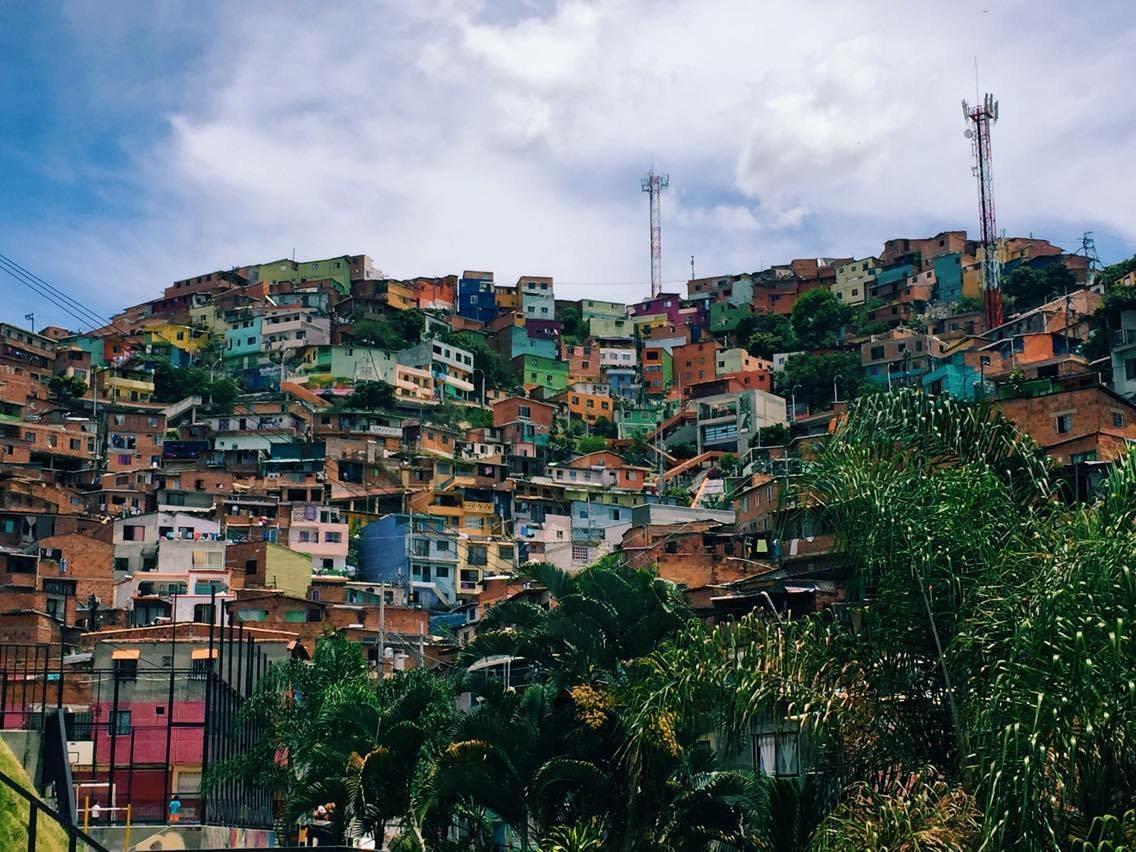 Info colombie paysage ville for Paysage de ville