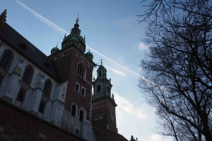 Cracovie au pied du château