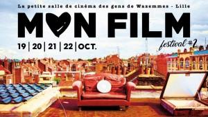 Affiche pour la deuxième édition de Mon Film festival
