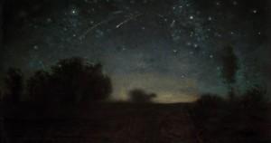 Nuit étoilée, vers 1850-1865