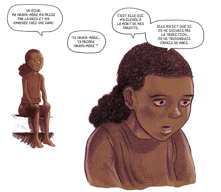 """Extrait de la bande dessinée """"Un tout petit bout d'elles"""", de Zidrou et Beuchot"""