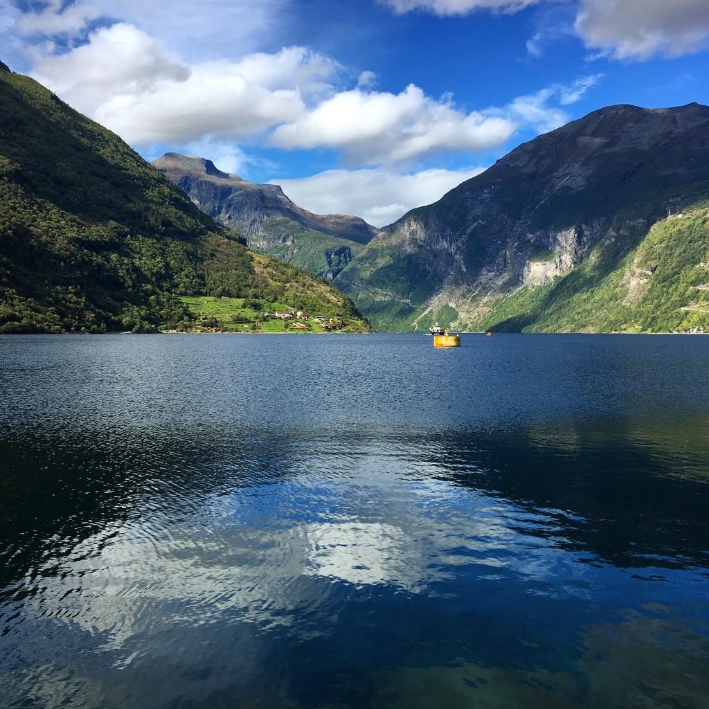 Le fjord de Geiranger, considéré comme un des plus beaux du pays.