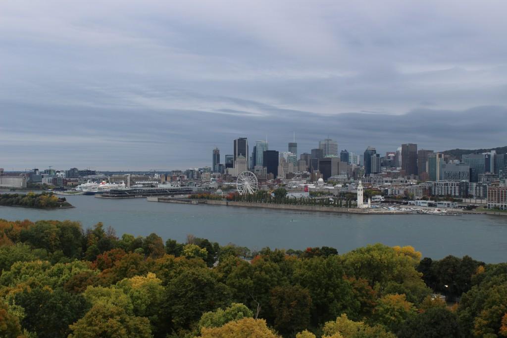 Montréal (vue depuis la Tour du Lévis), QC