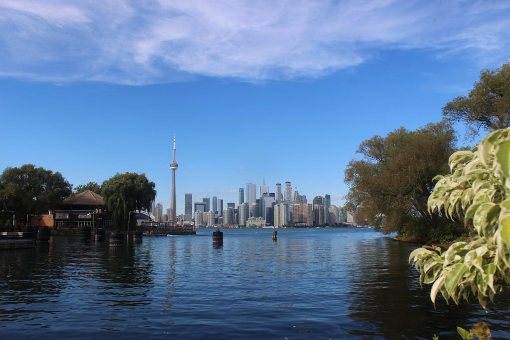 Toronto (vue depuis Toronto Islands), ON