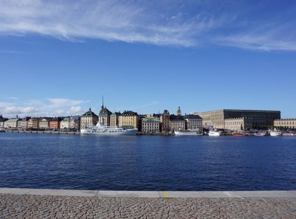 Stockholm ensoleillée
