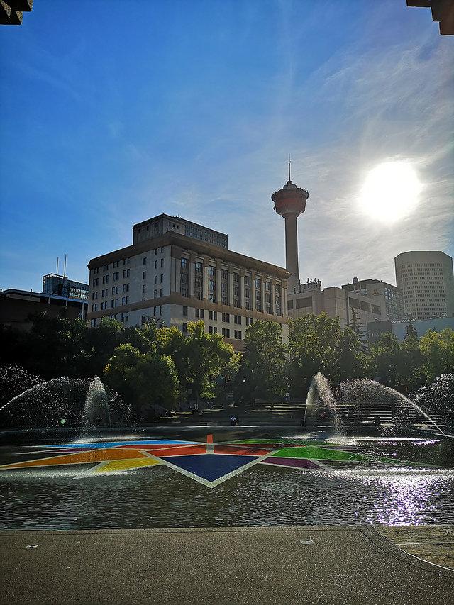Le centre de Calgary