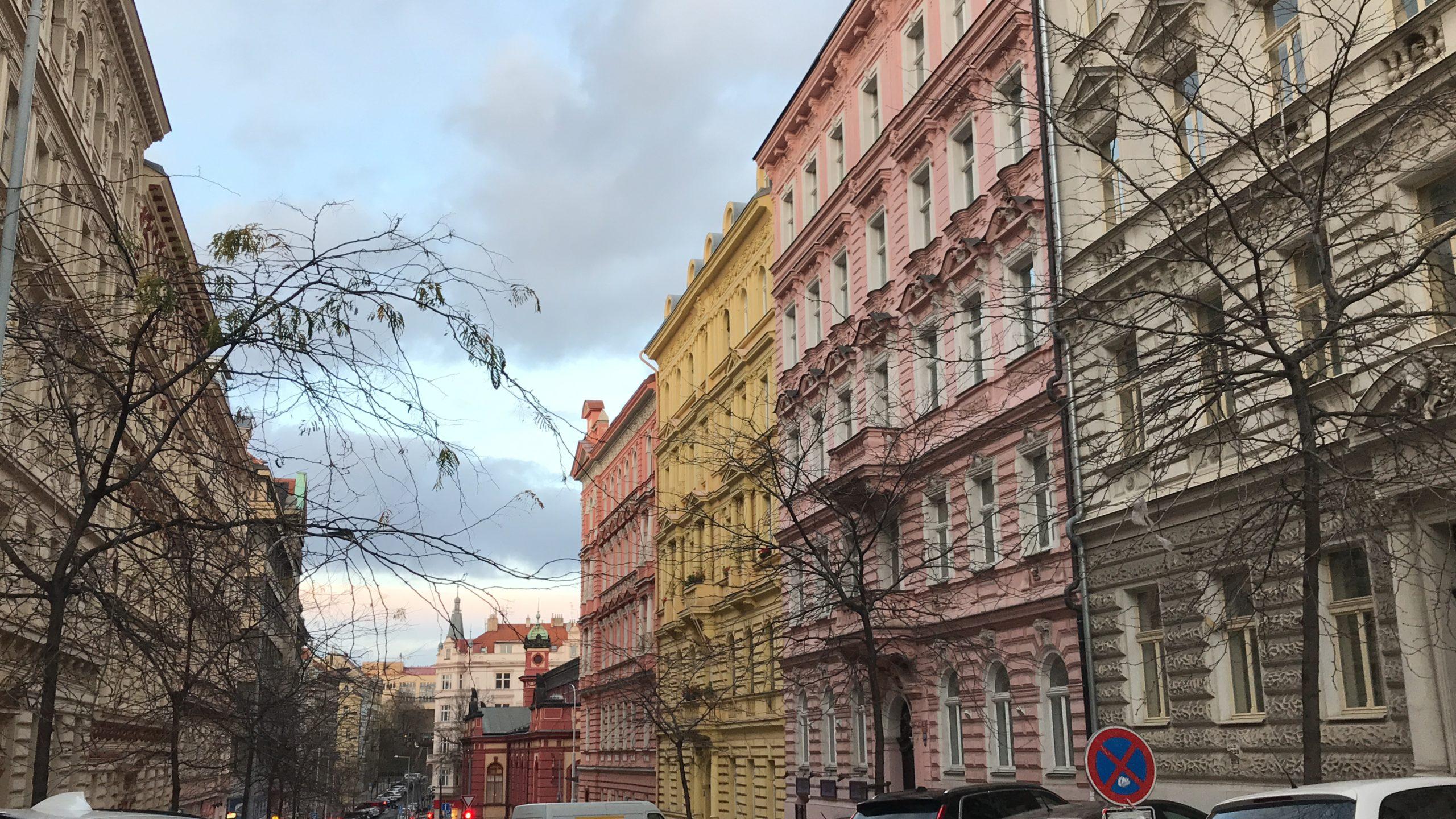Les Rues Colorées de Prague