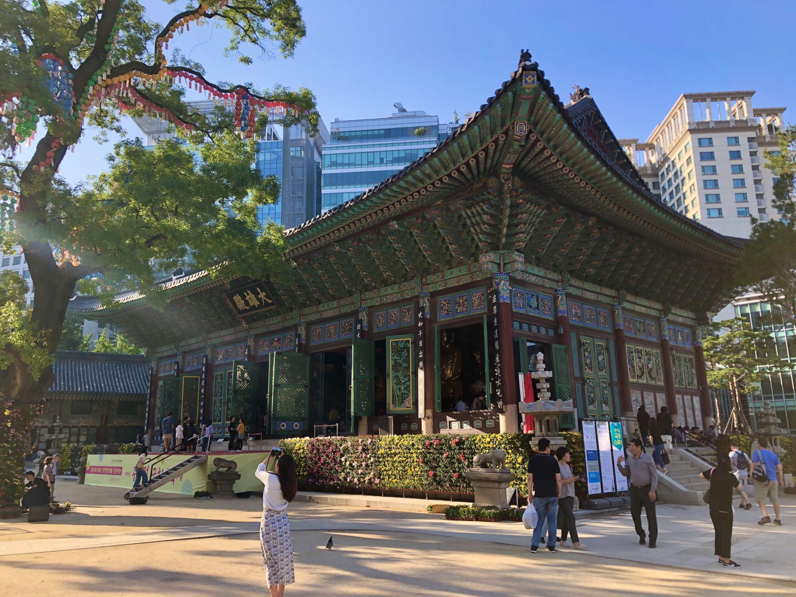 Temple Jogyeza, Seoul